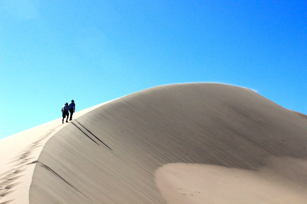 Kazachstan Ałtyn Emel wydmy
