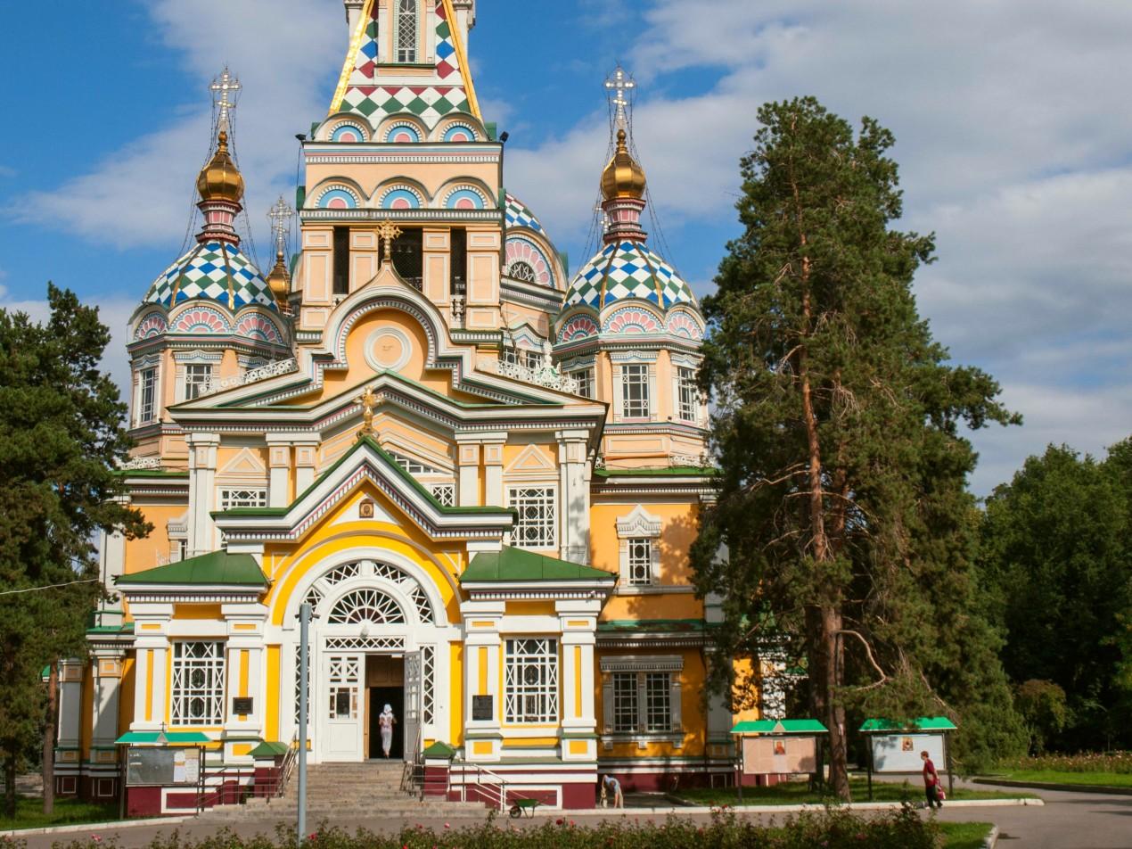 Cerkiew w Ałmaty