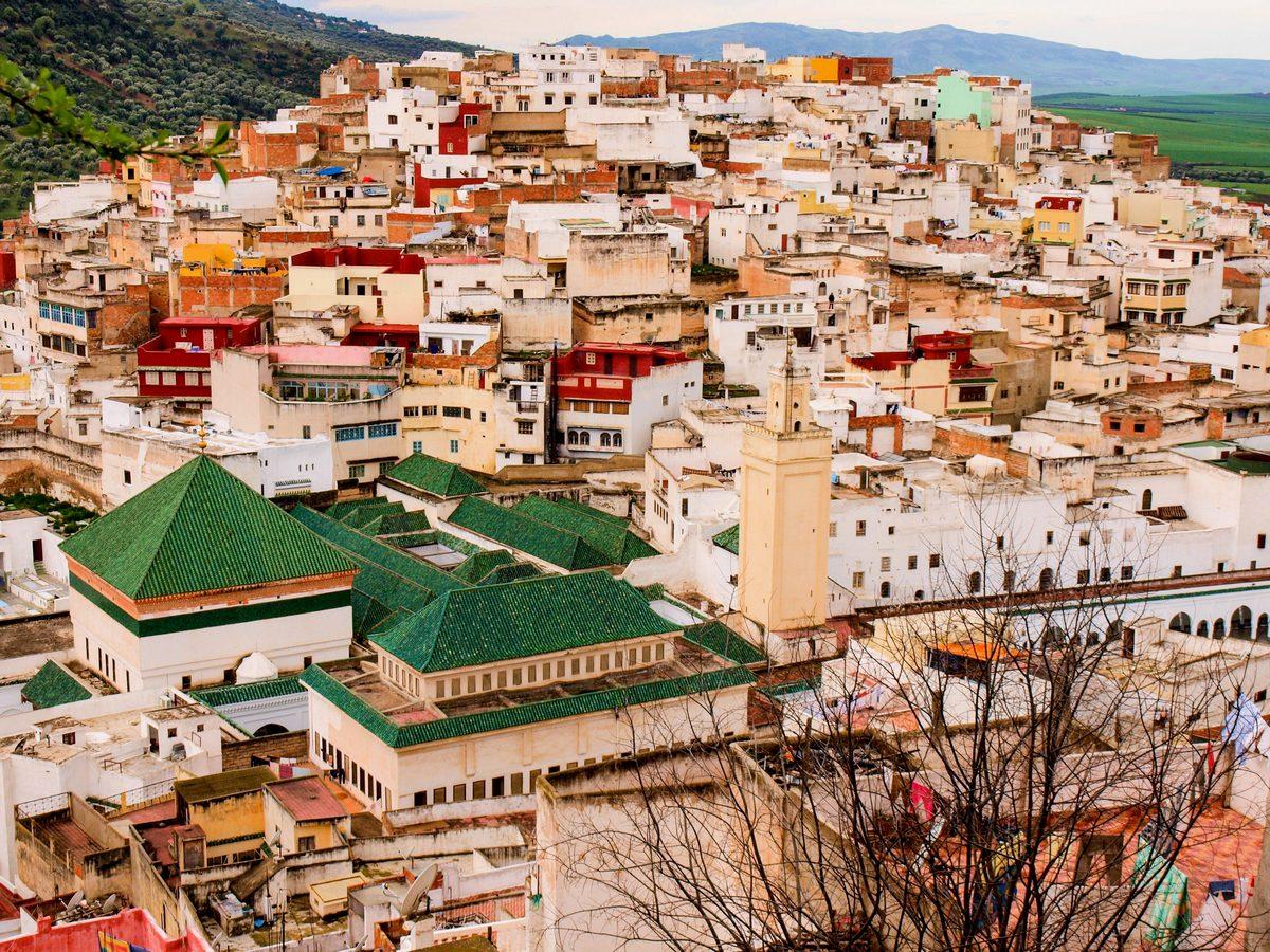 Maroko atrakcje Moulay Idriss