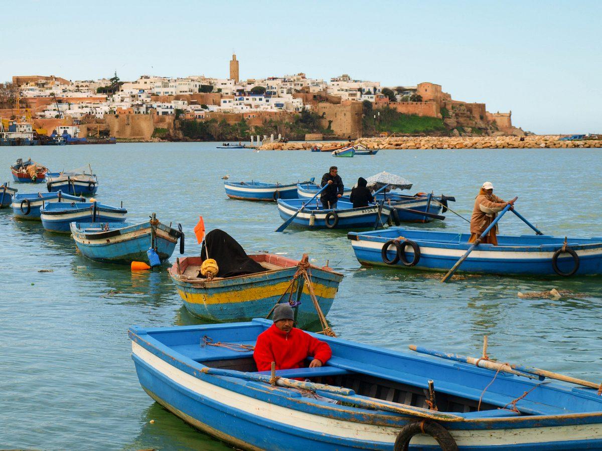 Maroko atrakcje Rabat