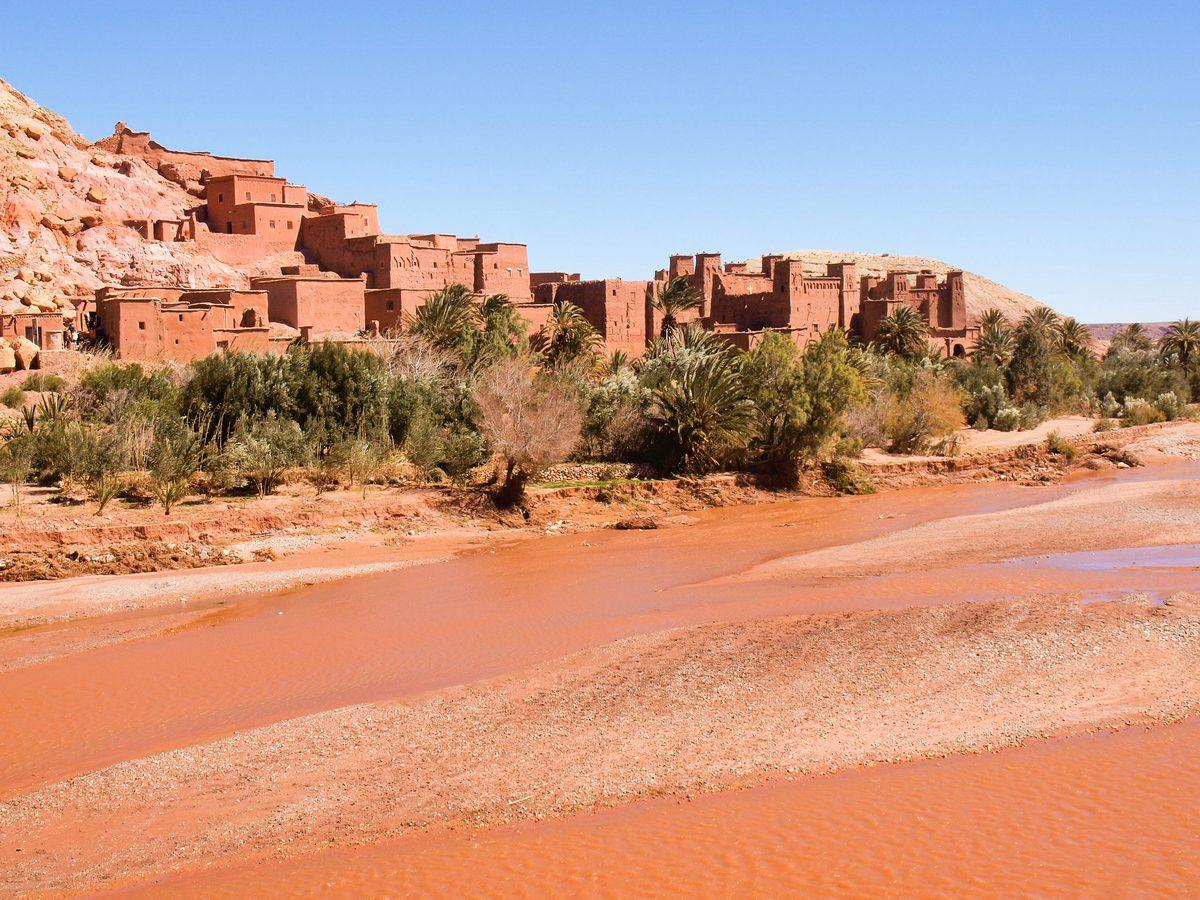 Maroko atrakcje Ait Ben Haduu