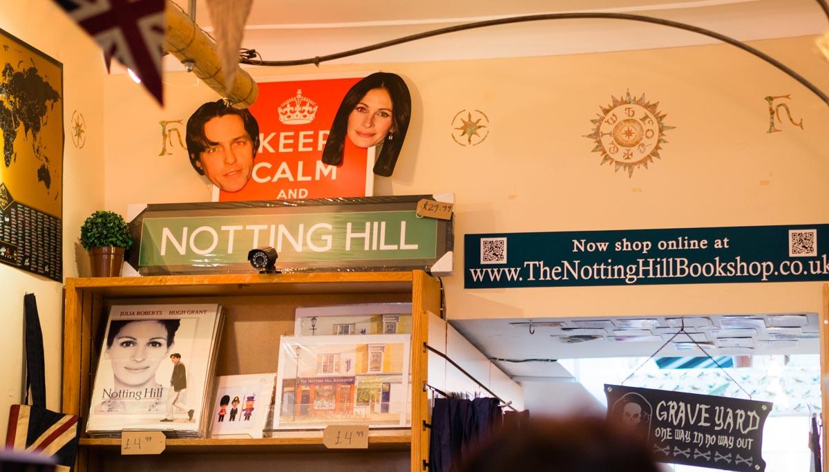 Notting Hill księgarnia