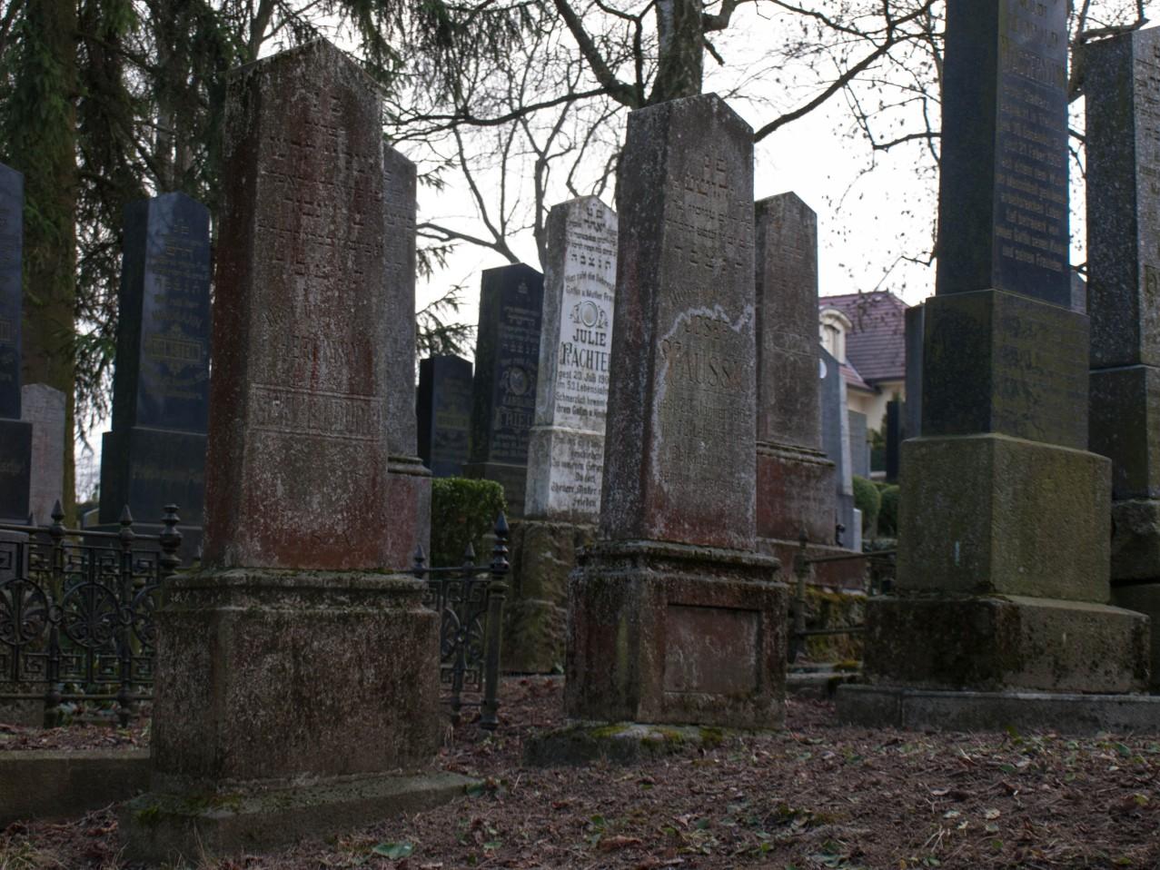 Cmentarz żydowski w Trebicu