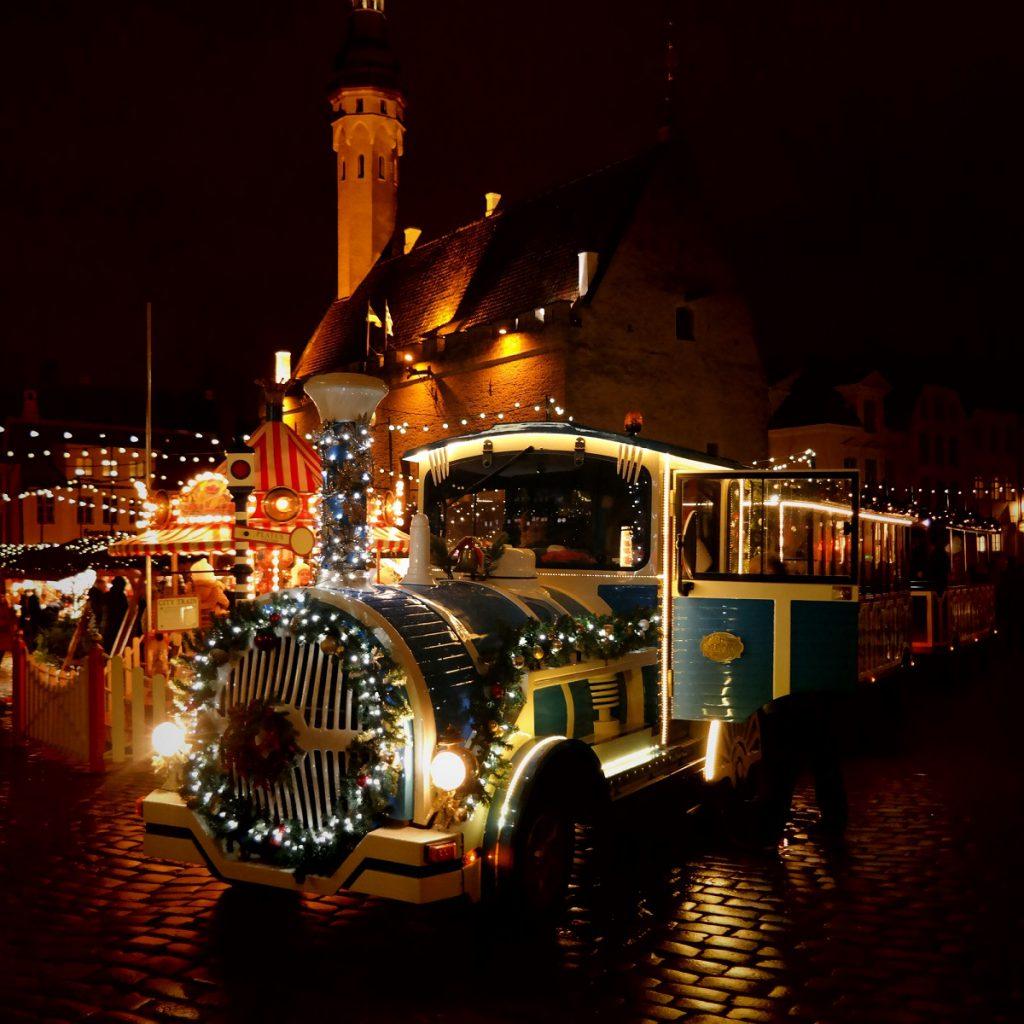 jarmarki bożonarodzeniowe Tallinn