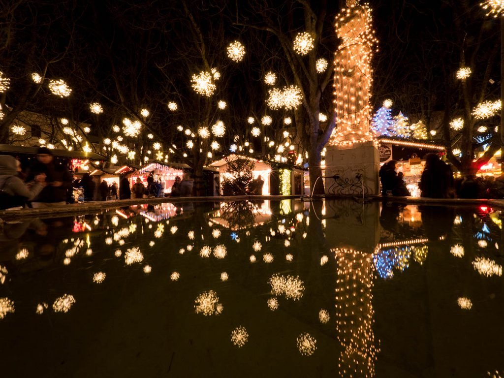 jarmark bożonarodzeniowy Bazylea