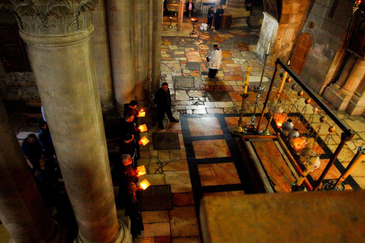 Jerozolima największe atrakcje: bazylika grobu pańskiego
