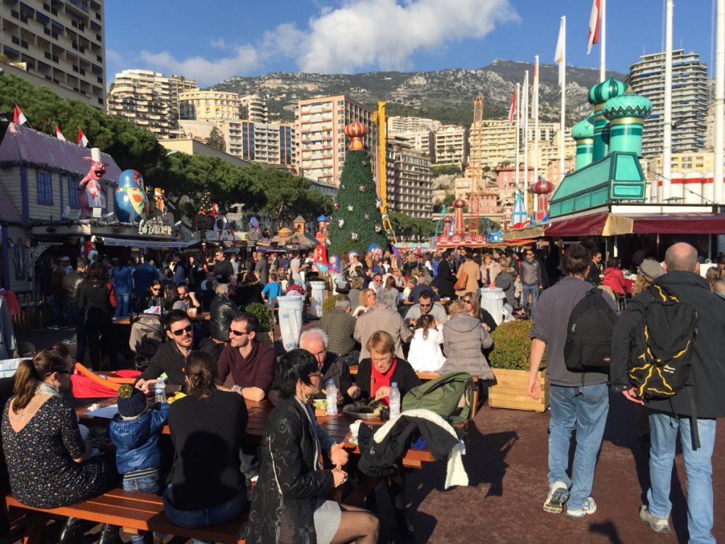 jarmarki bożonarodzeniowe Monako