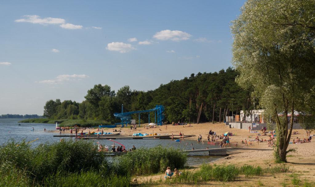Nowy Dębiec plaża