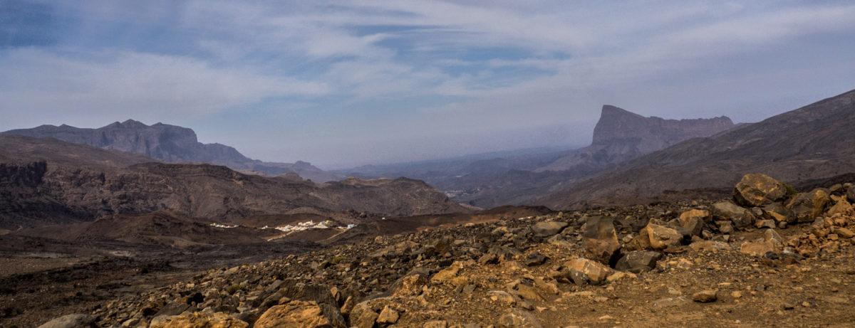 Jabel Shams najwyższy szczyt Omanu