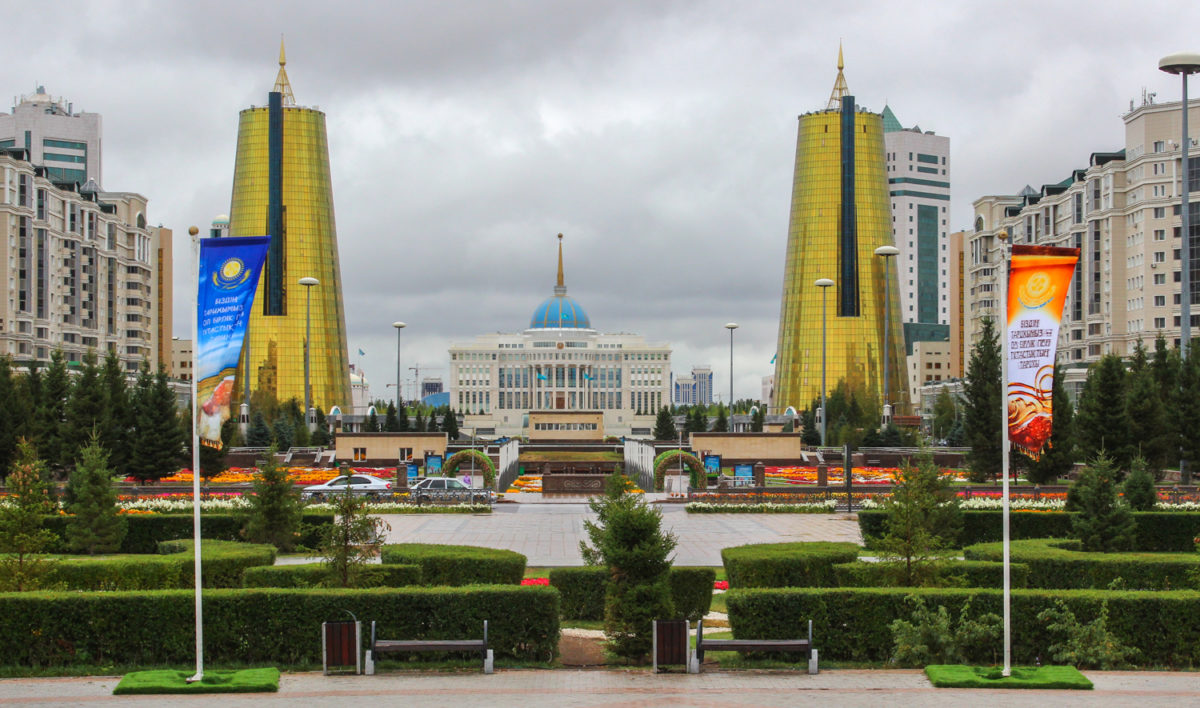 Nur Sułtan pałac prezydencki