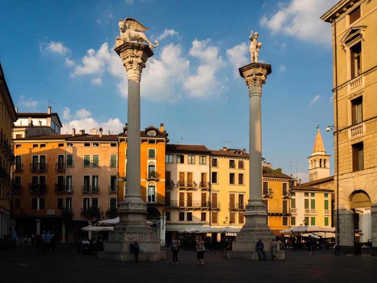Vicenza kolumny