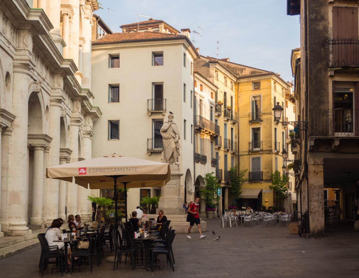 Andrea Palladio pomnik Vicenza
