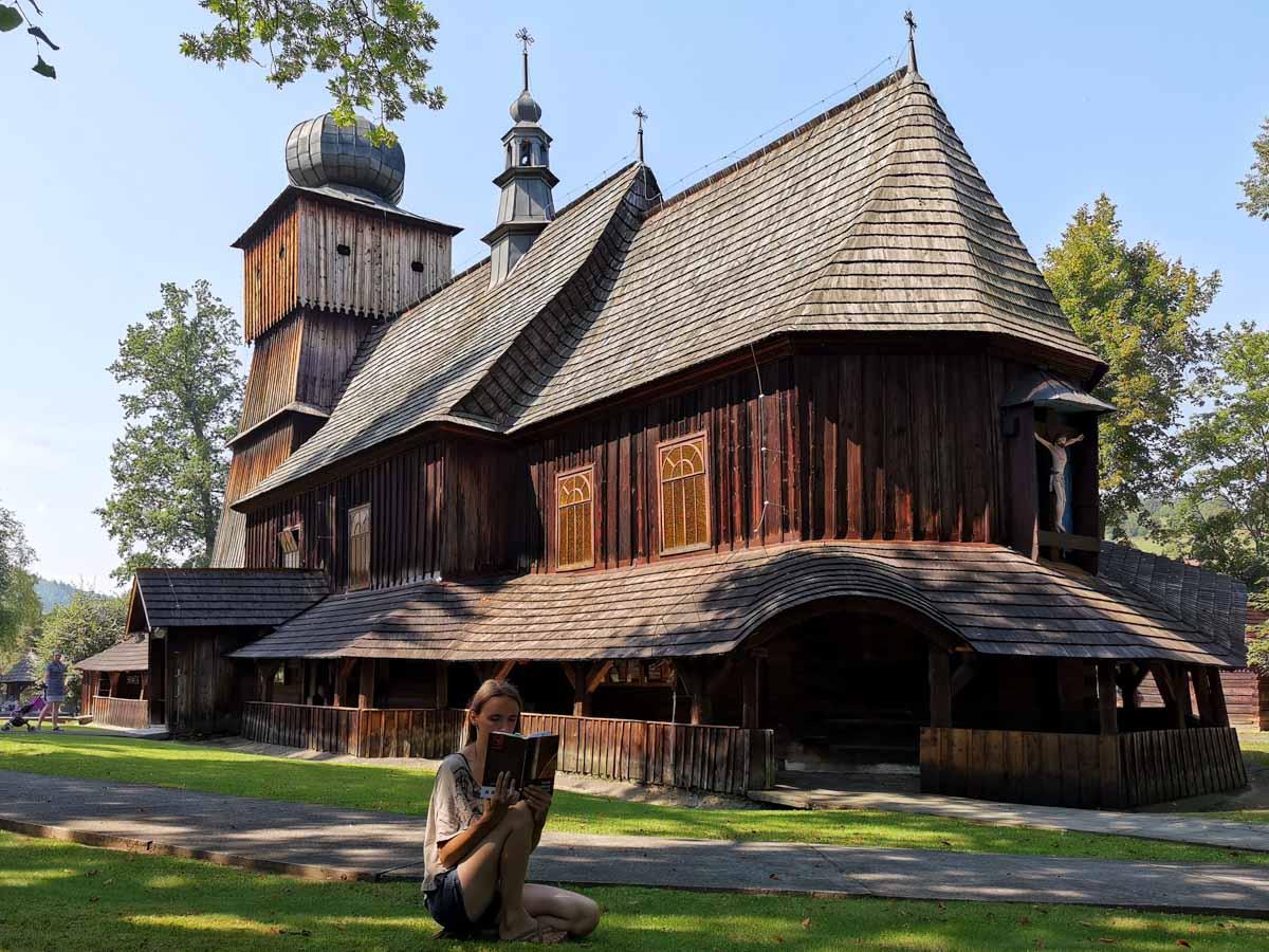 kościół w Lachowicach