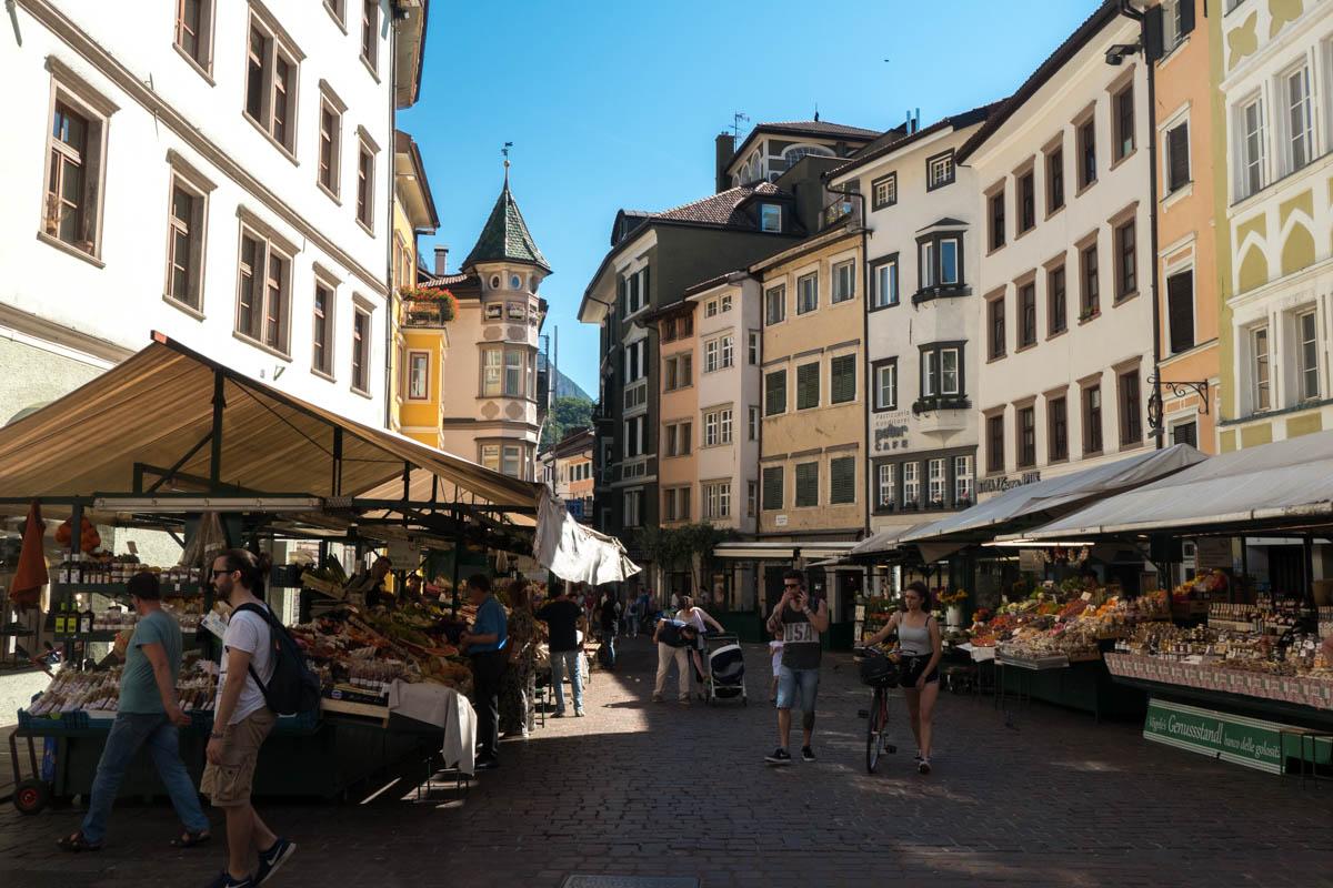 Bolzano targ