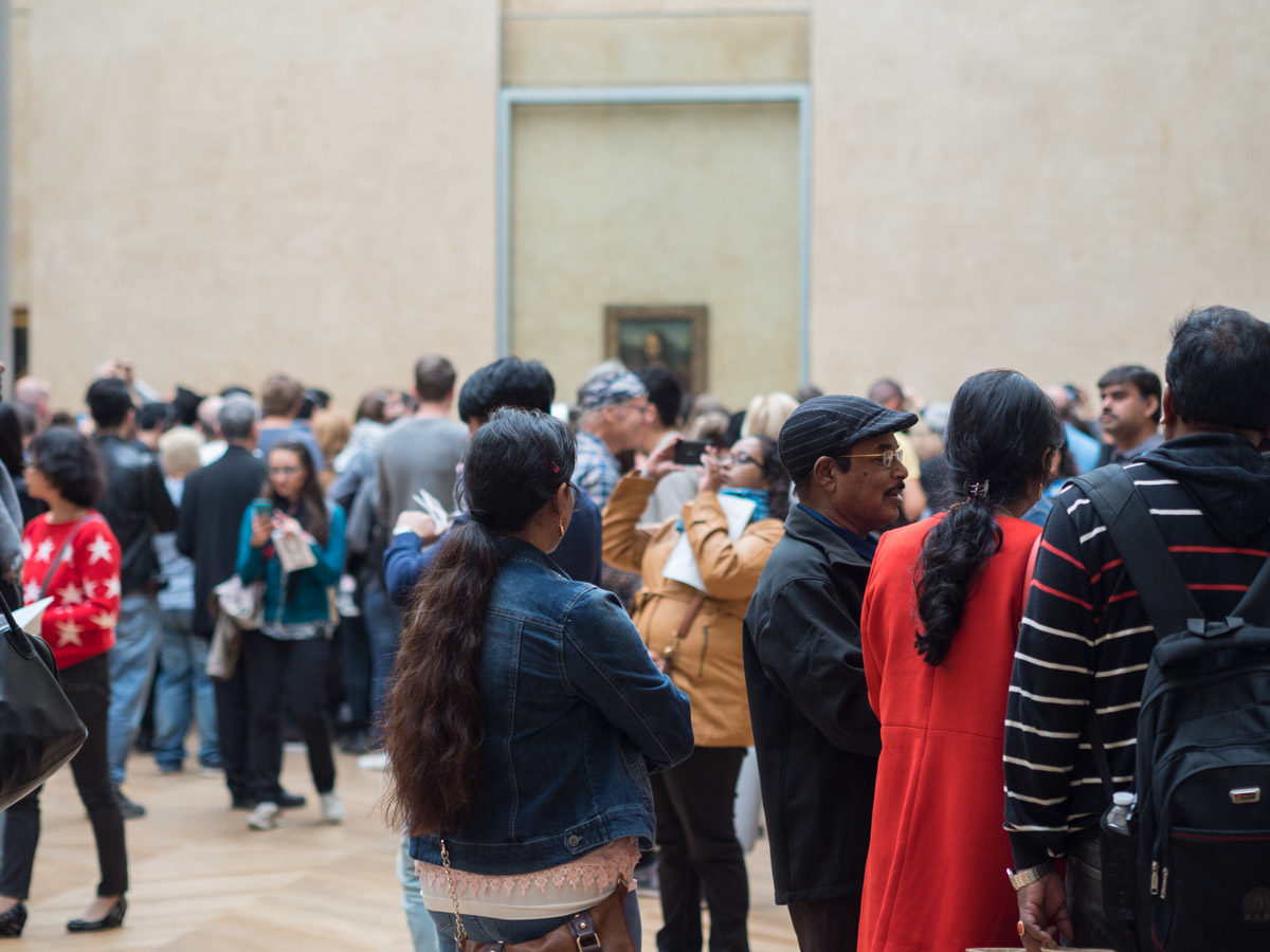 Mona Lisa turyści