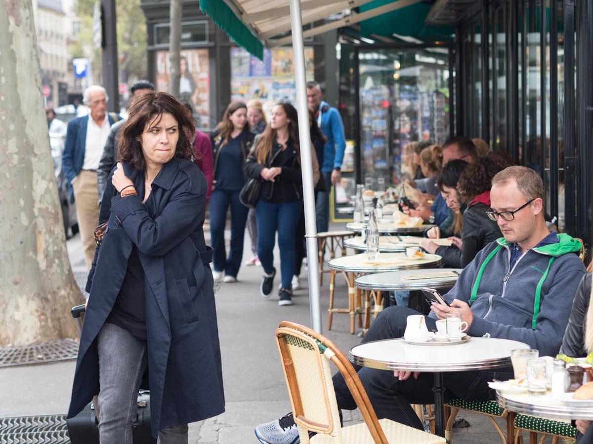 Paryż kawiarnie