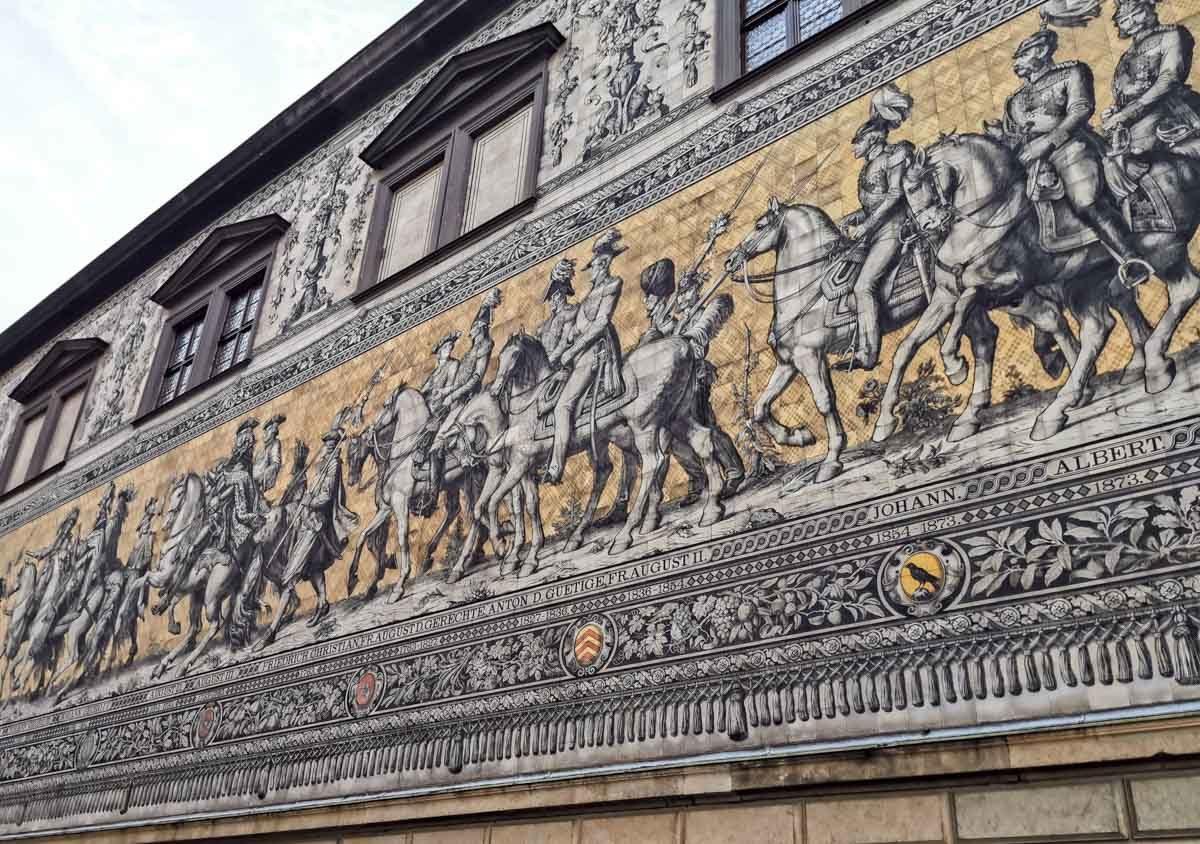 orszak królewski w Dreźnie