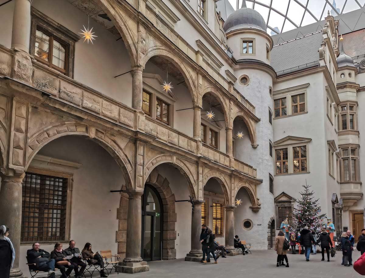 zamek królewski w Dreźnie