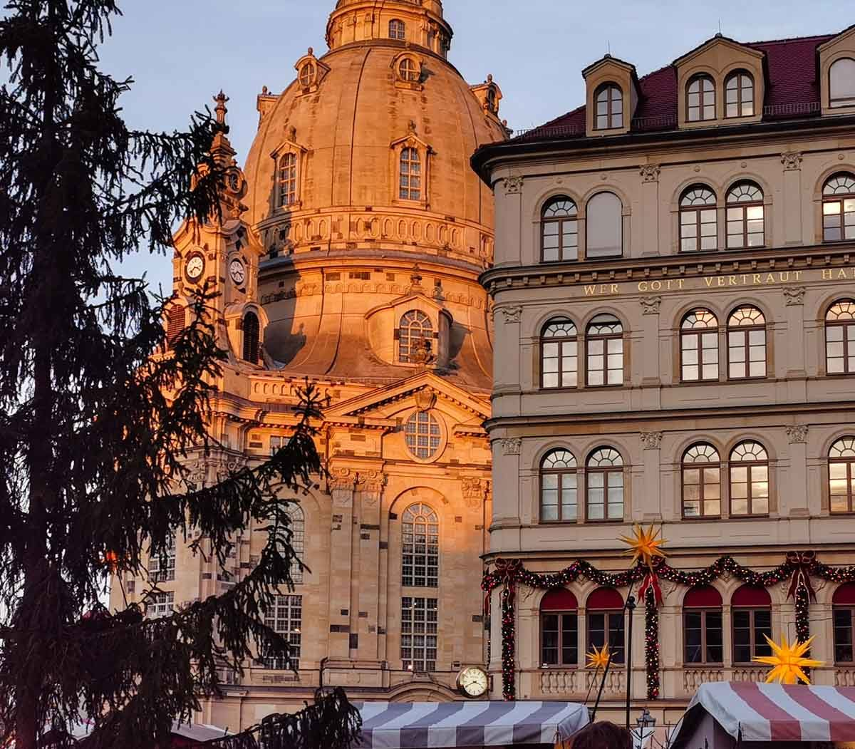 Frauenkirche w Dreźnie