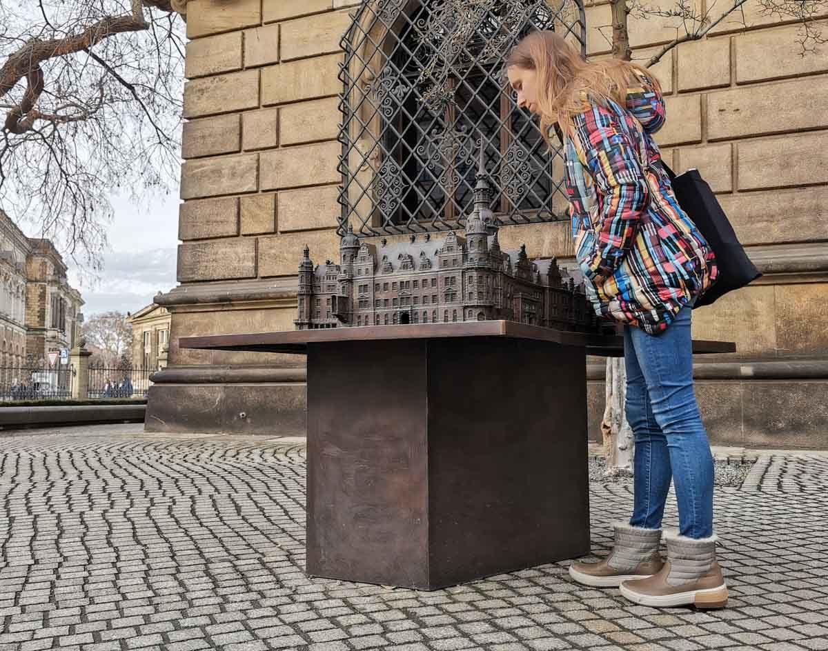 zamek w Dreźnie