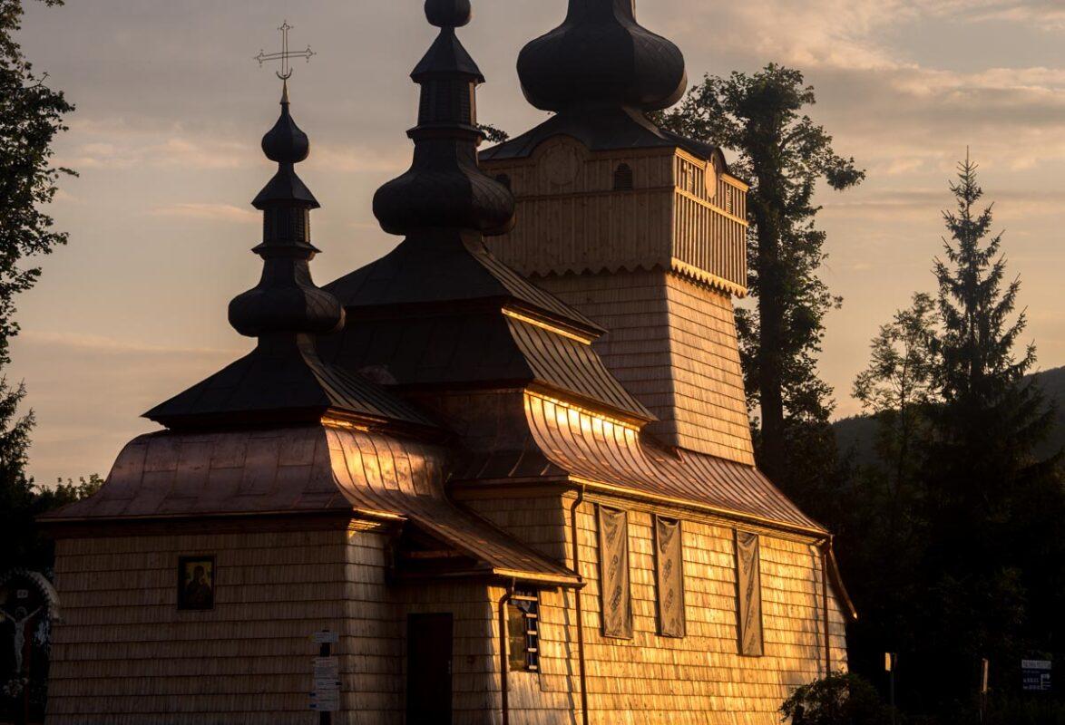 cerkwie w Beskidzie Niskim