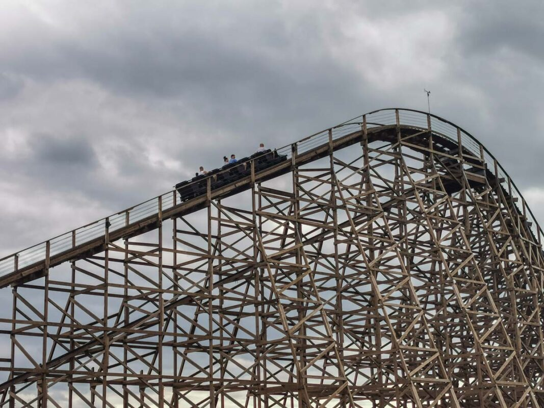 majaland wilkołak rollercoaster