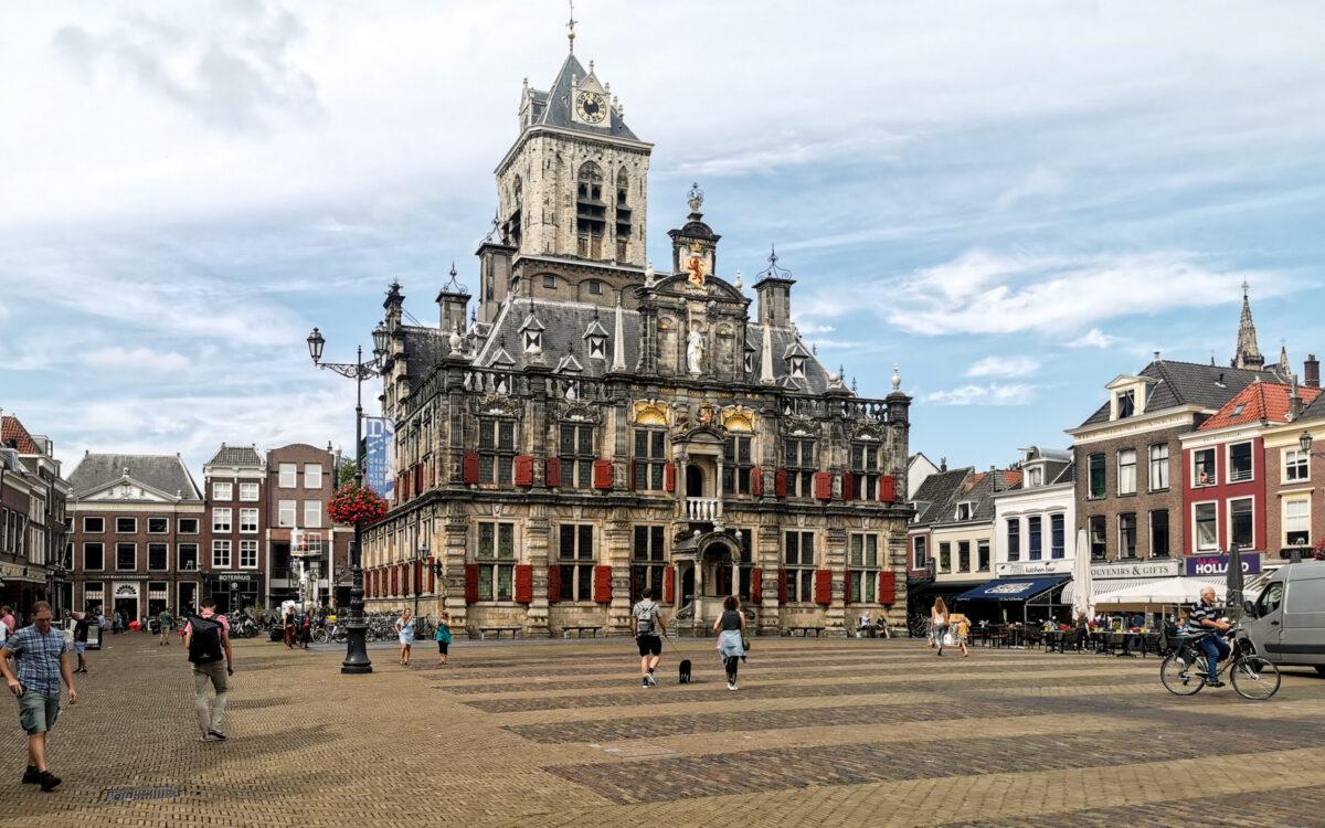 atrakcje Holandii Delft