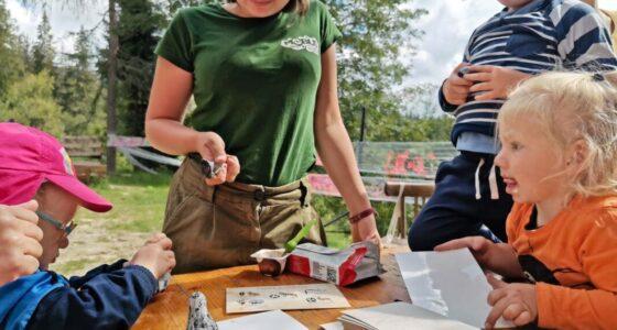 Obóz dla małych dzieci – za rok też jadę na Leśną odyseję w Beskidach