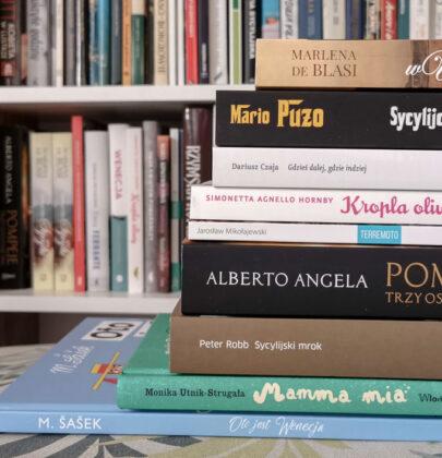 Najlepsze książki o Włoszech, które czytałam przez 7 lat fascynacji krajem
