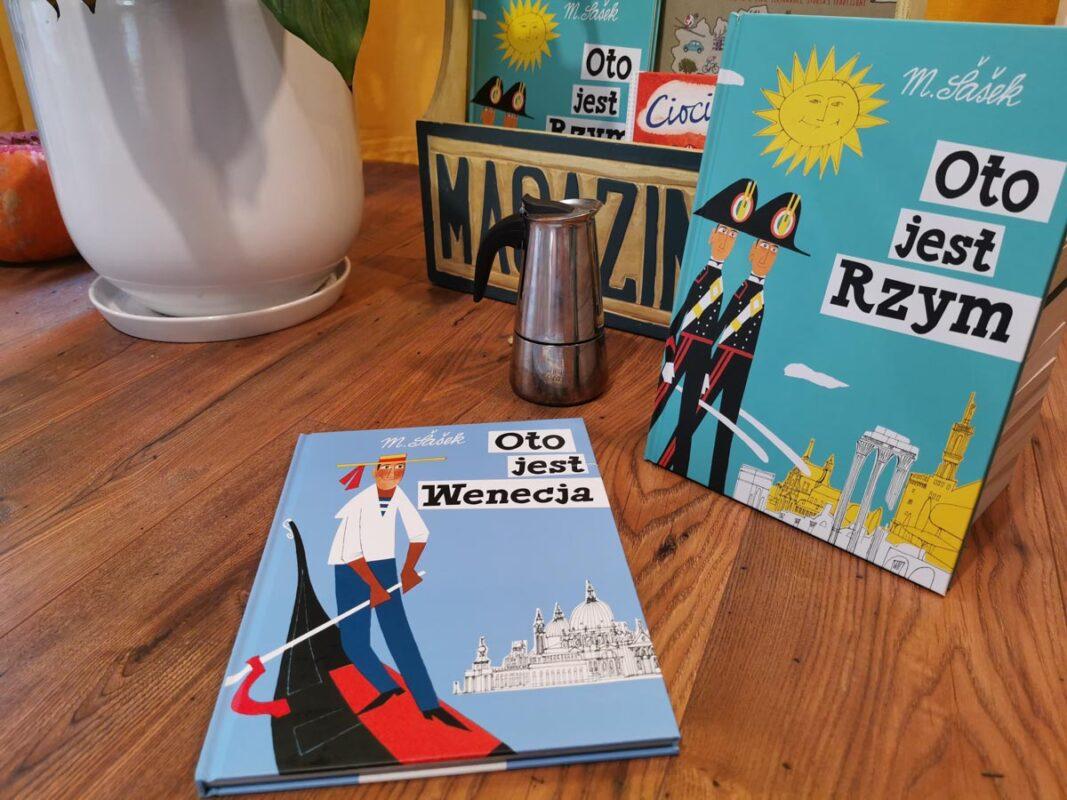 książki o Włoszech - oto jest Wenecja