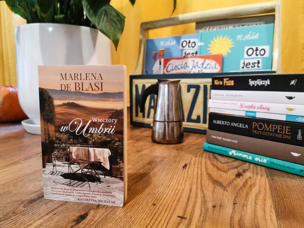 książki o Włoszech - Wieczory w Umbrii