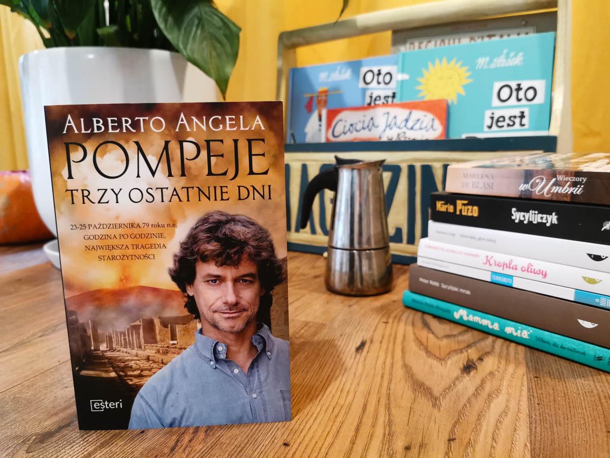książki o Włoszech - Pompeje
