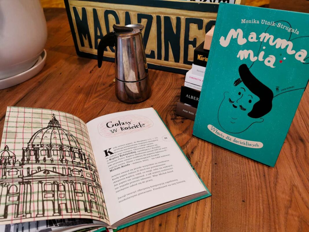 książki o Włoszech - mamma mia