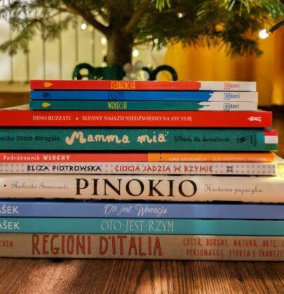 10 genialnych książek o Włoszech dla dzieci, którymi zarazicie pociechy italofilią