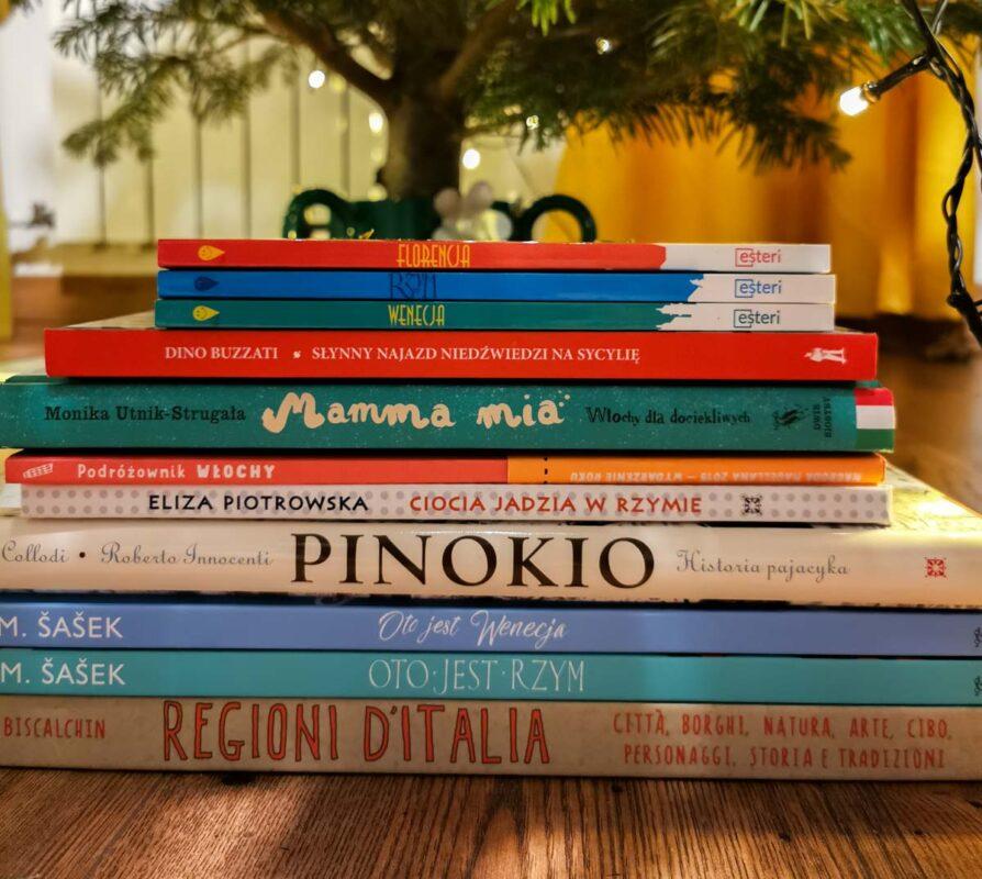 książki dla dzieci o włoszech