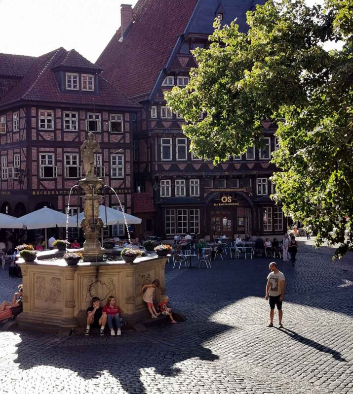 rynek w Hildesheim