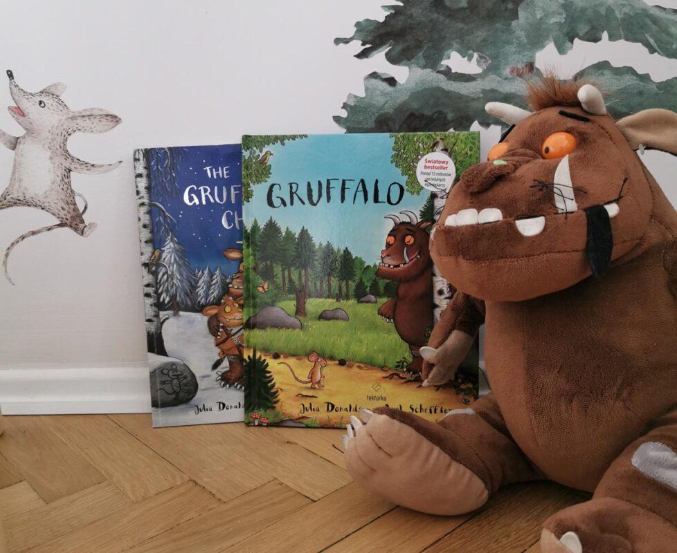 książki dla dwulatka gruffalo