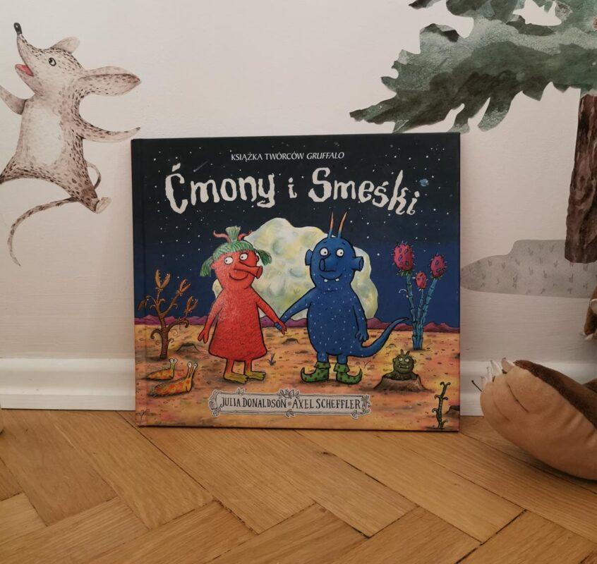 książki dla dwulatka ćmony i smeśki
