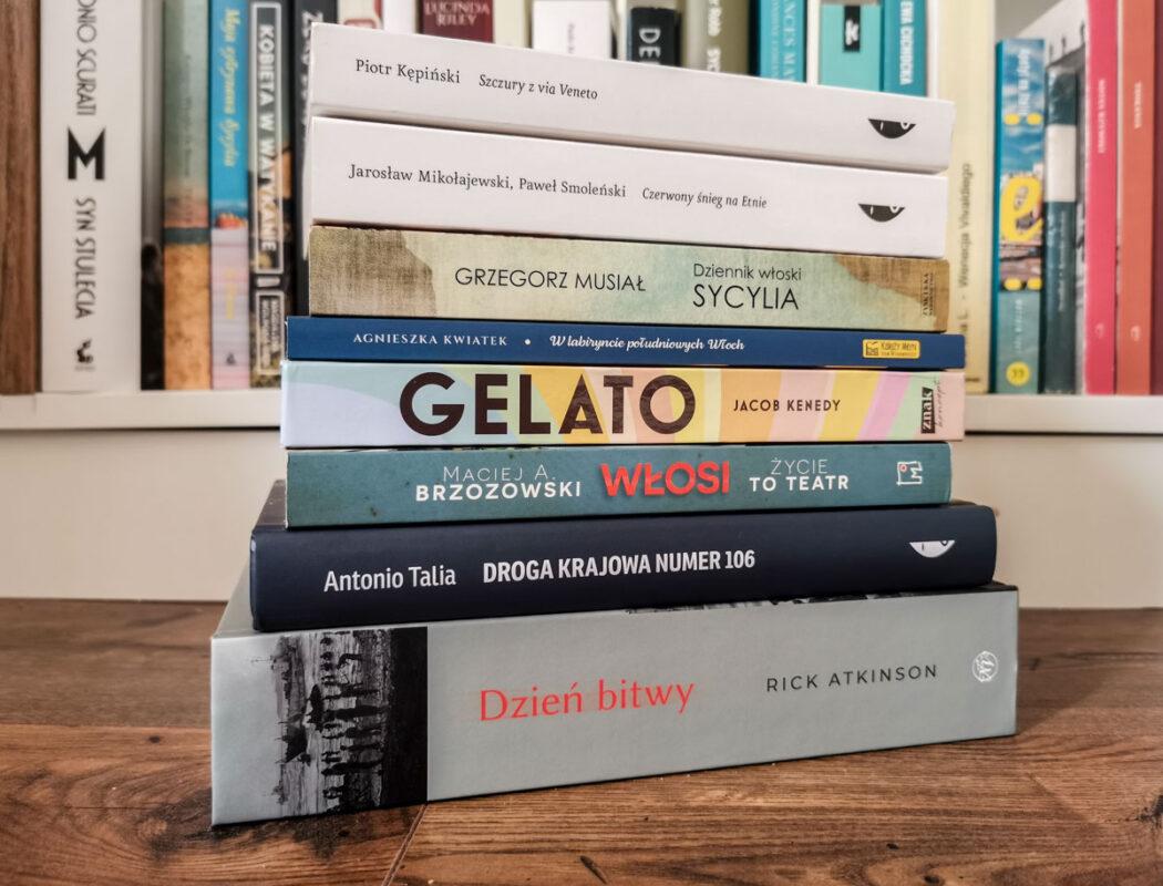 książki o Włoszech 2021