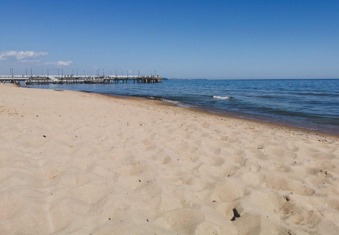 Gdańsk atrakcje: plaża w Brzeźnie