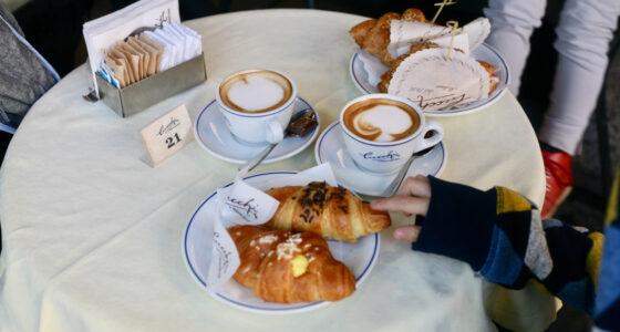 Gdzie zjeść w Mediolanie (z dziećmi)