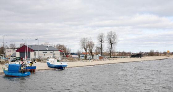Mechelinki – klify i łąki nad Bałtykiem