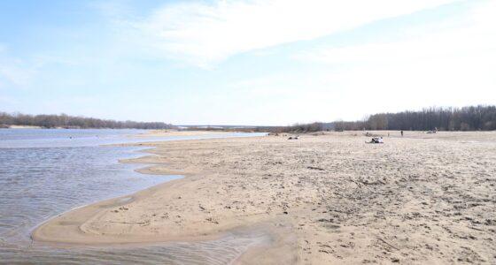 Plaża na Zawadach w Wilanowie
